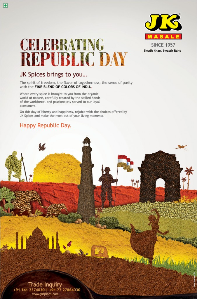 33 x 50 cm republic day